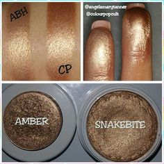Dupes: anastasia Beverly Hills amber and colourpop snakebite