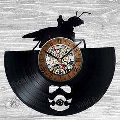 Ant-Man Vinyl Clock