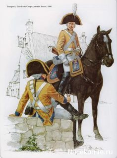 Napoleon's German Allies - Saxony 1806-1815 Troopers, garde du corps, parade dress 1806