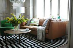 Fantastisch Love This Ikea Stockholm Leather Sofa.. Ikea Ledersofa, Einrichten Und  Wohnen, Sofa