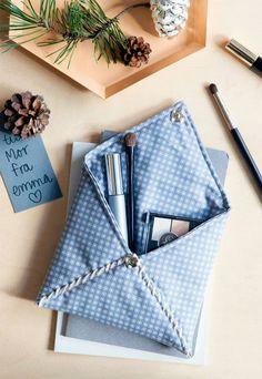 Make up pung - nemt på symaskine - Hjemmelavede gaver: Fra mig til dig - Boligliv
