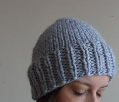chunky knit toque / wool blend