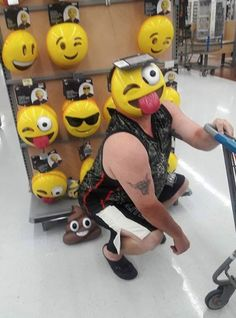 Official People Poop at Walmart Mask - Funny Pictures at Walmart