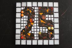 Sarah Harper, House Number Plaque, Bizarre Art, Mosaic, Ceramics, Artist, Painting, Twitter, Ceramica
