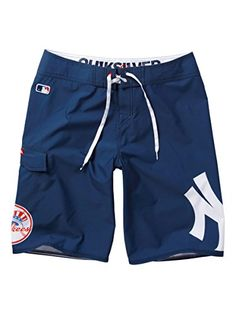 Quiksilver Men's New York Yankees Mlb 22″ Boardshorts | Wakeboarding World