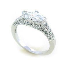 Dámský stříbrný prsten Silvego se zirkony r0566 velikost 55
