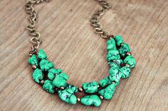 Linds | Lemon Kissed Howlite necklace