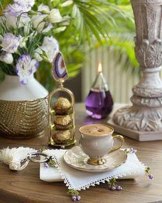 Good Morning Gift, Good Morning Coffee, Coffee Love, Coffee Break, Girls Tea Party, Food Snapchat, Turkish Coffee, Breakfast Time, Kitchenware