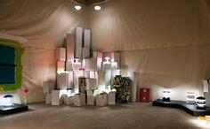 Krila Design - Esposizione di lampade a all'evento La Dolce Via, Recanati