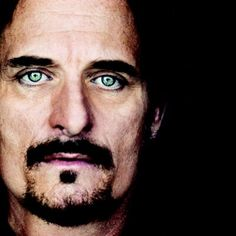 Kim Coates, his eyes are hypnotic he doesn't have to say anything