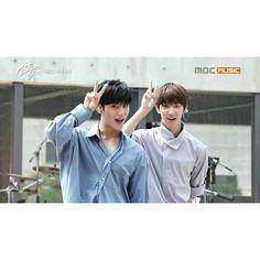 Mingyu and Minghao. GyuHao