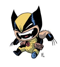 Wolverine by Skottie Young, colors by MnB89
