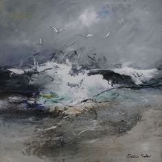 Seabirds Circling by Patricia Sadler