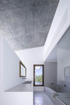 *Modern, minimal Bathrooms* - Can Manuel d'en Corda by Maria Castello Martinez