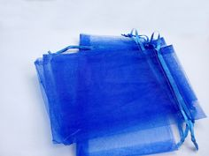 Find More Packaging Bags Information about 50pcs 9*12 Blue small gift bags for jewelry/wedding/christmas/birthday Organza Bags with handles Packaging Yarn bag,High Quality bag of rose petals,China bag umbrella Suppliers, Cheap bag bag from Fashion MY life on Aliexpress.com
