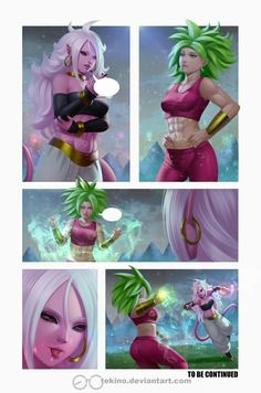 Caulifla y Android 21