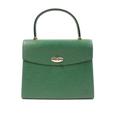 Green Louis Vuitton - MALESHERBES  #Malesherbes #LV #Louisvuitton #luxe #luxury #green @InstantLuxe Hermes Kelly, Green Colors, Monogram, Louis Vuitton, Luxury, Leather, Bags, Top Luxury Brands, Handbags