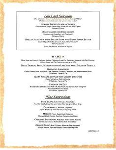 carnival dinner menu sample 1 Carnival Cruise Ships, Dining Menu, Sirloin Steaks, Green Tomatoes, Cruises, Stuffed Peppers, Dinner, Dining, T Bone Steak