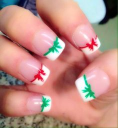 Image via We Heart It https://weheartit.com/entry/152201887 #bows #christmas #cute #girly #nailart #nails