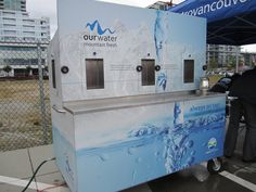 Metro Vancouver water refill station #sustainabillity #GMIC