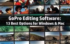 Trying to sort out GoPro editing software? You're in the right place! In this post, you'll learn about your options for great GoPro editing software. I'll cover both free and premium programs – for both Windows and Mac. The list includes the best options Gopro Drone, Gopro Camera, Best Photo Editing Software, Free Video Editing Software, Pc Photo, Gopro Action, Gopro Video, Gopro Photography