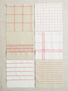 Corinne's Thread: Vintage Tea Towels - The Purl Bee -