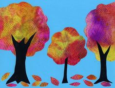 Watercolor on Coffee Filter Tree Collage. My students LOVED painting these this week. art projects for kids collage Tree Collage, Tree Art, Collage Art, Kids Collage, Nature Collage, Collage Ideas, Fall Art Projects, School Art Projects, Kindergarten Art