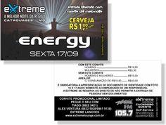 Energy - Extreme (Convite)