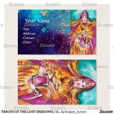 #TAROTS OF THE LOST SHADOWS #STRENGHT /#FORTITUDE BUSINESS CARD  #tarot #magic #art #psychicreader #psychics #cartomante #astrology #lion