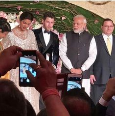 Prime Minister Narendra Modi Arrives At Nick and Priyanka Wedding Reception To Bless the Newly Weds - HungryBoo