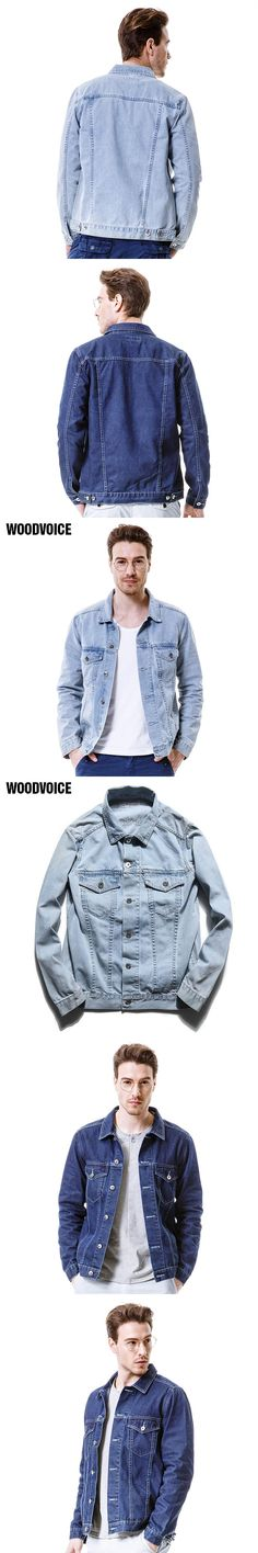2017 New Arrival Denim Jacket Men Fashion brand clothing Jeans Jackets Male Spring Autumn Casual Clothing male slim jean jacket