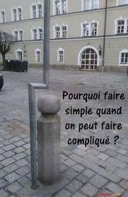 Pourquoi faire simple quand on peut faire compliqué ??? #blague #mage #drole #drôle #rire #blagues #humour #images