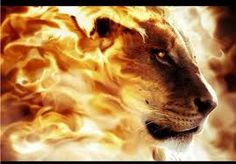 Jesus, the Lion of the tribe of Judah...  AWESOME in might and power!