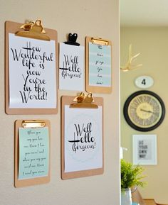 17 (Free!) Printables for Your Gallery Wall via Brit + Co