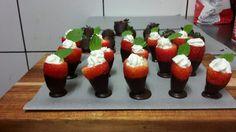 Strawberry yummy cups