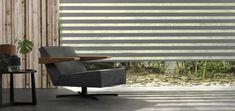 Hunter Douglas, Eames, Blinds, Lounge, Curtains, Chair, Furniture, Home Decor, Modern Curtains