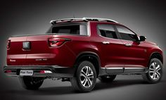 The Fiat Toro is a sport utility pickup in a new segment for the Latin American market. It features an entirely new design language for a pickup: more sophisticated treatment than traditional truck design. Jeep Renegade, Fiat Toro Volcano, Volkswagen, Fiat Cars, Auto Retro, 2018 Dodge, Motor Works, Dodge Dakota, Truck Design