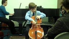 8 year old Cellist plays David Popper's Tarantella