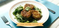 Lorna Jane's Thai salmon patties #lornajane #myactiveyear #cleaneatingatitsbest #delicious