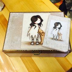 Handmade, Bunny, Decoupage, Gorjuss