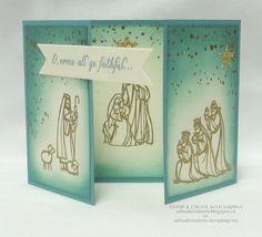 Stamp & Create With Sabrina:ALL YE FAITHFUL