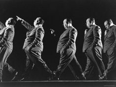 Multiple Exposure of Alfred Hitchcock Premium Photographic Print by Gjon Mili - AllPosters.co.uk