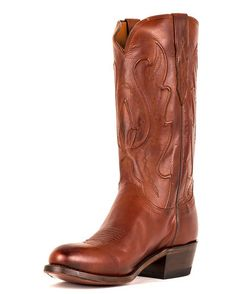 Men's Tan Ranch Hand Perez Cord R Toe #CowboyBoot. Because I'm turning into a #cowboy apparently.