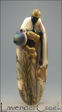 Theresa LaLiberte lampwork bead--this is truly a work of art.