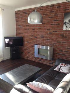 mur de parement en briques leroy merlin revetements. Black Bedroom Furniture Sets. Home Design Ideas