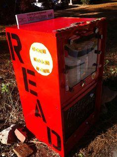 "Decatur, GA | 7 Coolest ""Little Free Libraries"""