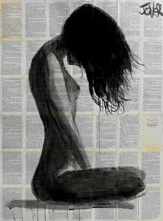 """Saatchi Art Artist Loui Jover; Drawing, """"summer breeze"""" #art"""