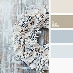 Brown blue white - this would be a pretty color palette for the master bedroom