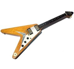 1958 GIBSON FLYING V KORINA NATURAL