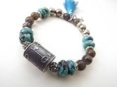 Anne Choi bead bracelet stretch bracelet by mayababyjewelry